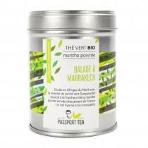 Thé vert balade à Marrakech...