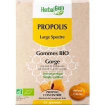 Gommes Propolis large spectre