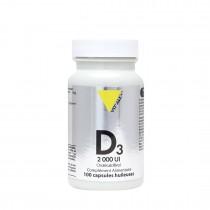 Vitamine D3 2000UI 100caps