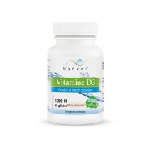 Vitamine D3 2000UI 60 gélules