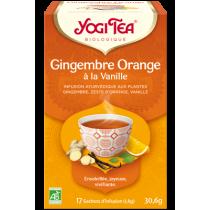 Yogi tea Gingembre Orange à...